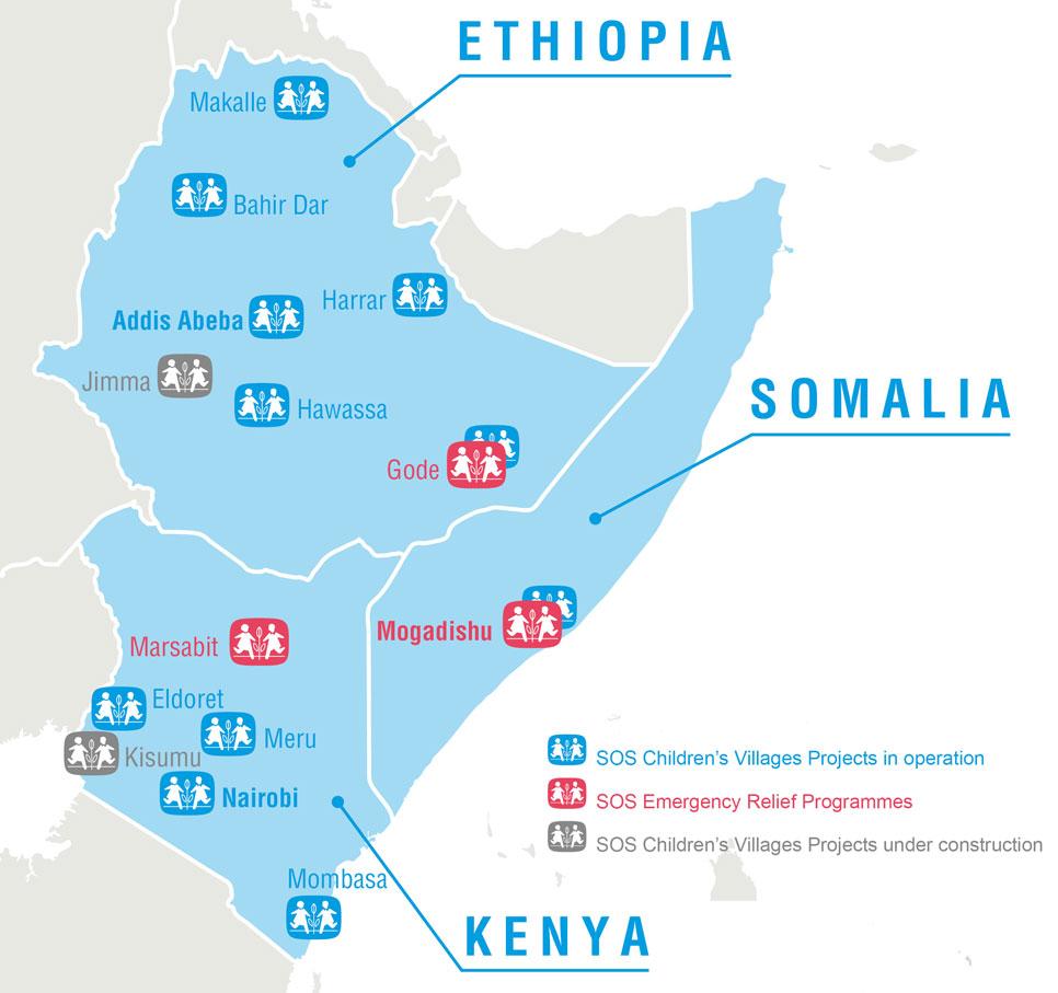 East Africa Famine SOS Childrens Villages