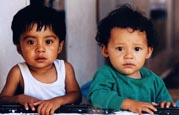 Children at the SOS Children's Village Tehuacan in Mexico