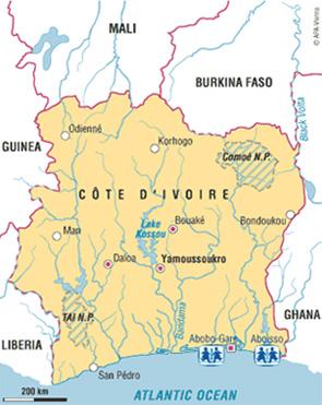 SOS Evacuating Children from Ivory Coast Village AboboGare