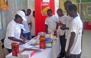 Youth recieve education about HIV/AIDS in Sierra Leone